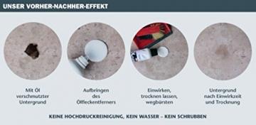 Ölfleckenentferner-STEFES-1Liter-wirksam-auf-Stein-Beton-Asphalt-Estrich-Holz-Boden -