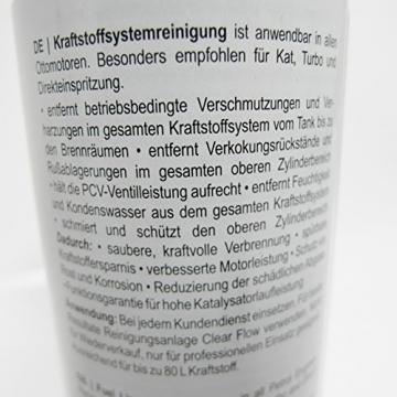 KRAFTSTOFFSYSTEMREINIGER -