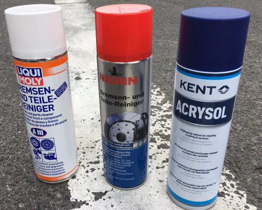 Lösungsmittel Test - 3 Produkte im direkten Vergleich