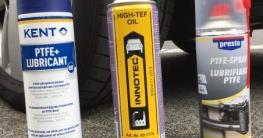 Schmieröl Test - 3 Produkte im direkten Vergleich